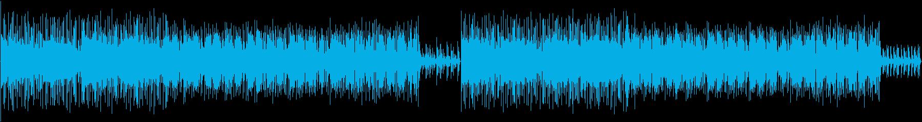 スタイリッシュな2Stepミュージックの再生済みの波形