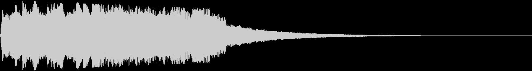 魔法の音・システム音の未再生の波形