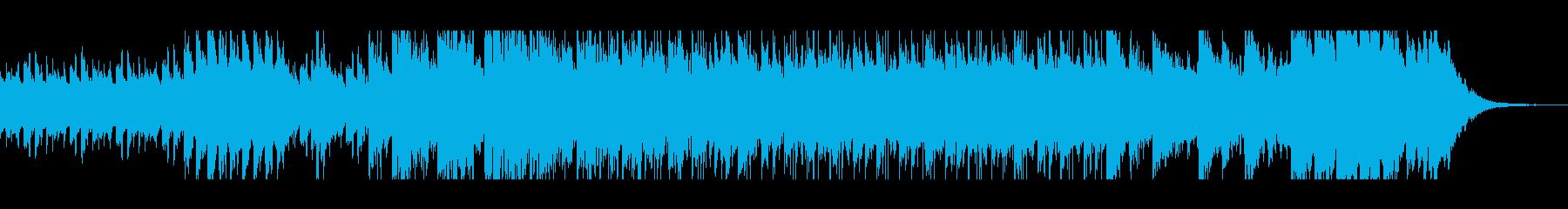 ほのぼのとした雰囲気のアコギの再生済みの波形