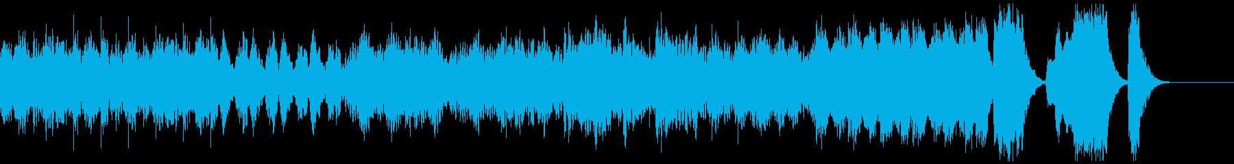 弦楽四重奏のための風の再生済みの波形