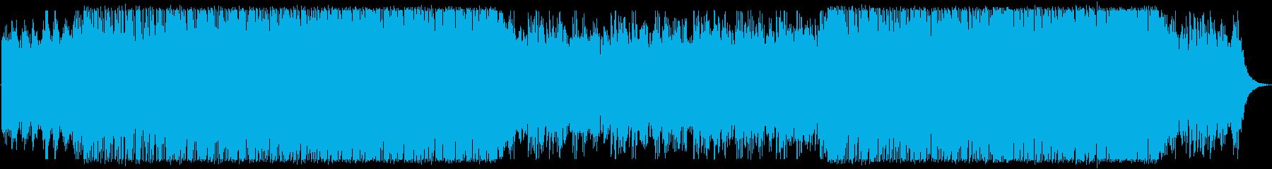 海外の車ブランドCMイメージBGM/洋楽の再生済みの波形