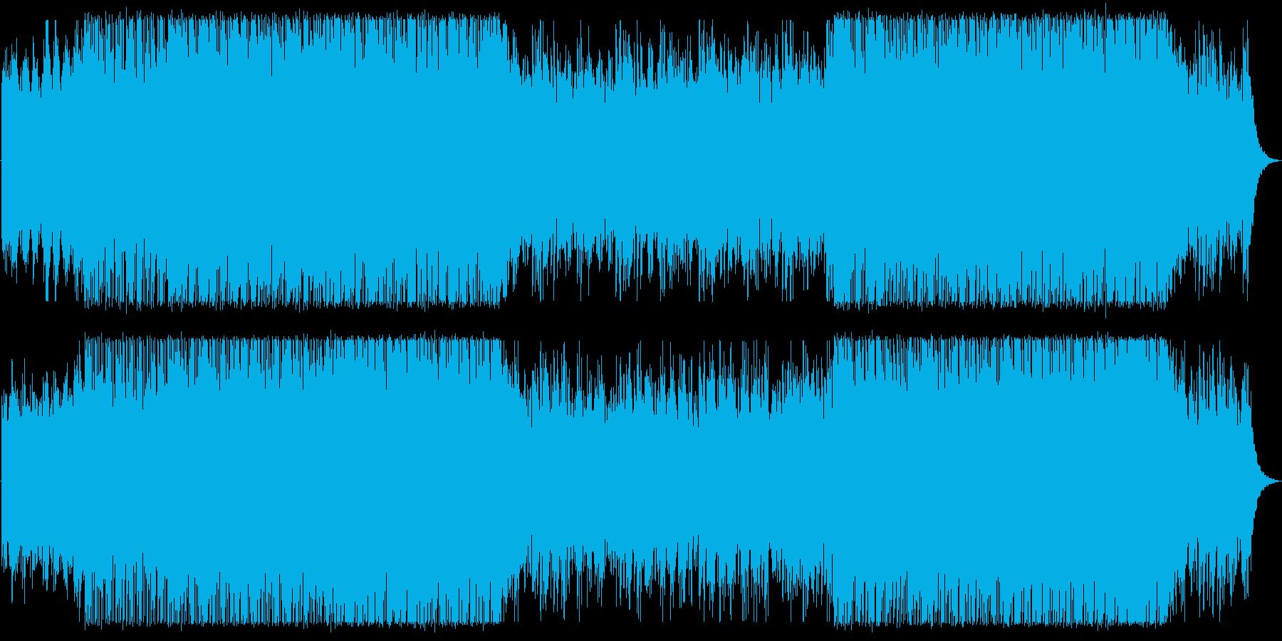 Overseas car brand CM image BGM / Western music's reproduced waveform