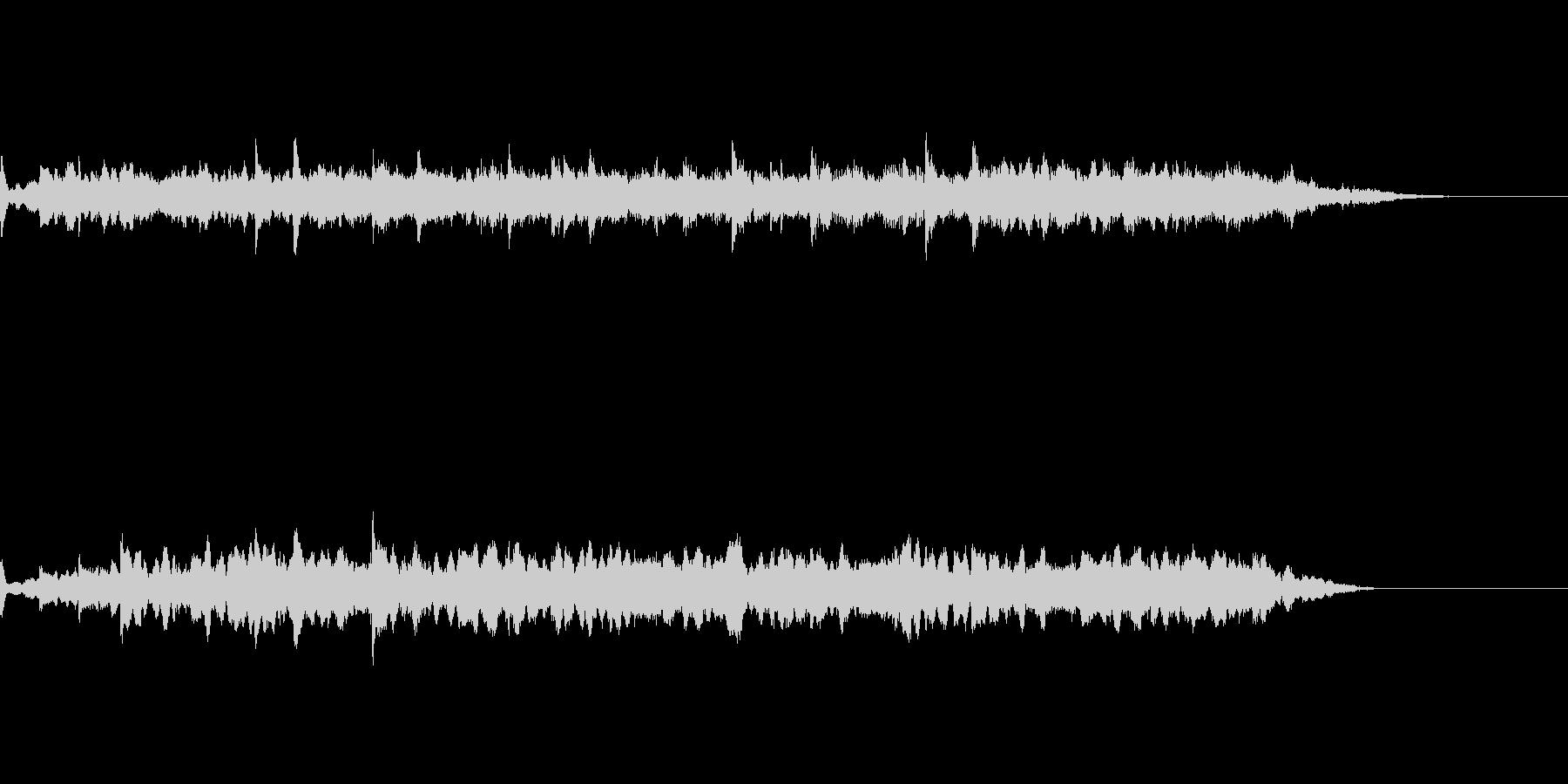 劇伴用の短いアンビエント風効果音の未再生の波形