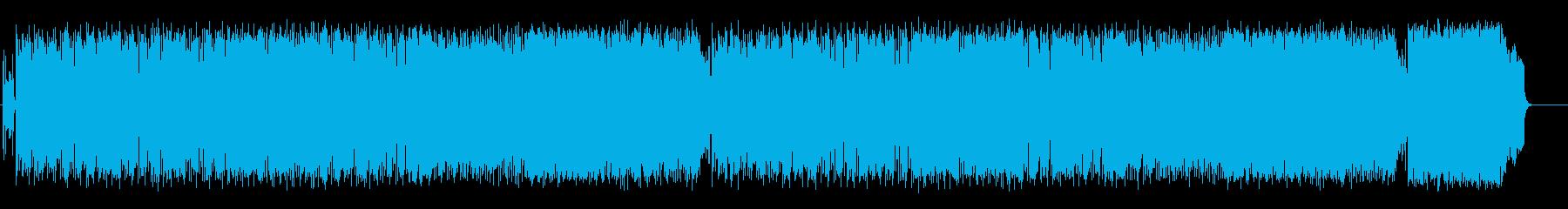 ワクワクする明るいポップ(フルサイズ)の再生済みの波形