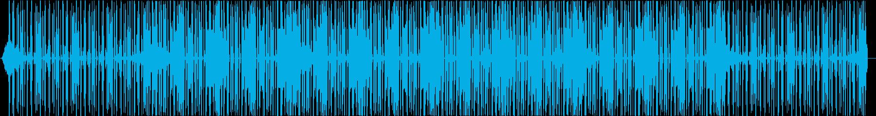 クール・ミステリー・ベース・洋楽・ハウスの再生済みの波形