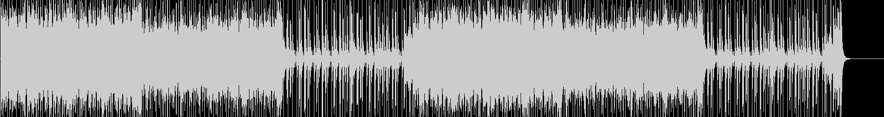 アップテンポなアクションRPGの曲の未再生の波形