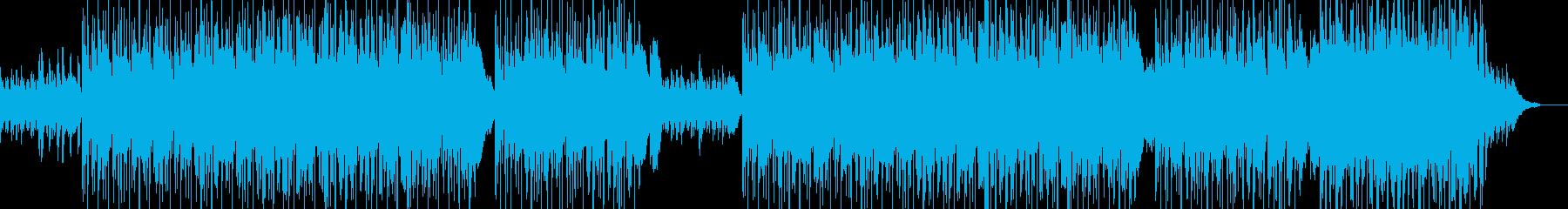せつないピアノ+女性VoのスローなEDMの再生済みの波形