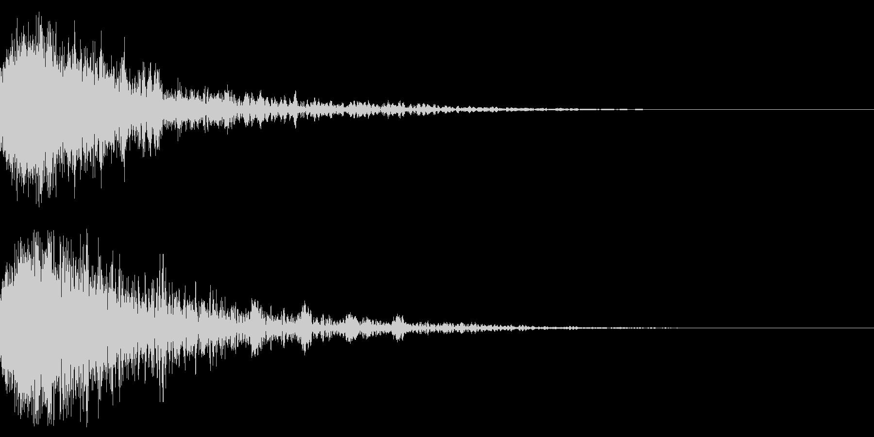 ドーン-54-2(インパクト音)の未再生の波形
