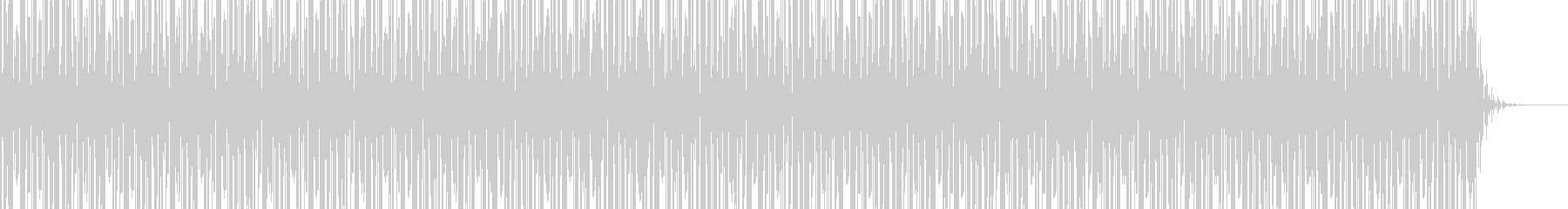 実用的シンセの無機質アンビエントBGM4の未再生の波形
