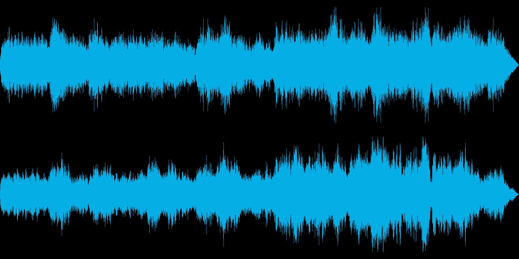 透明感のあるオンブラ・マイ・フ樹木の陰での再生済みの波形