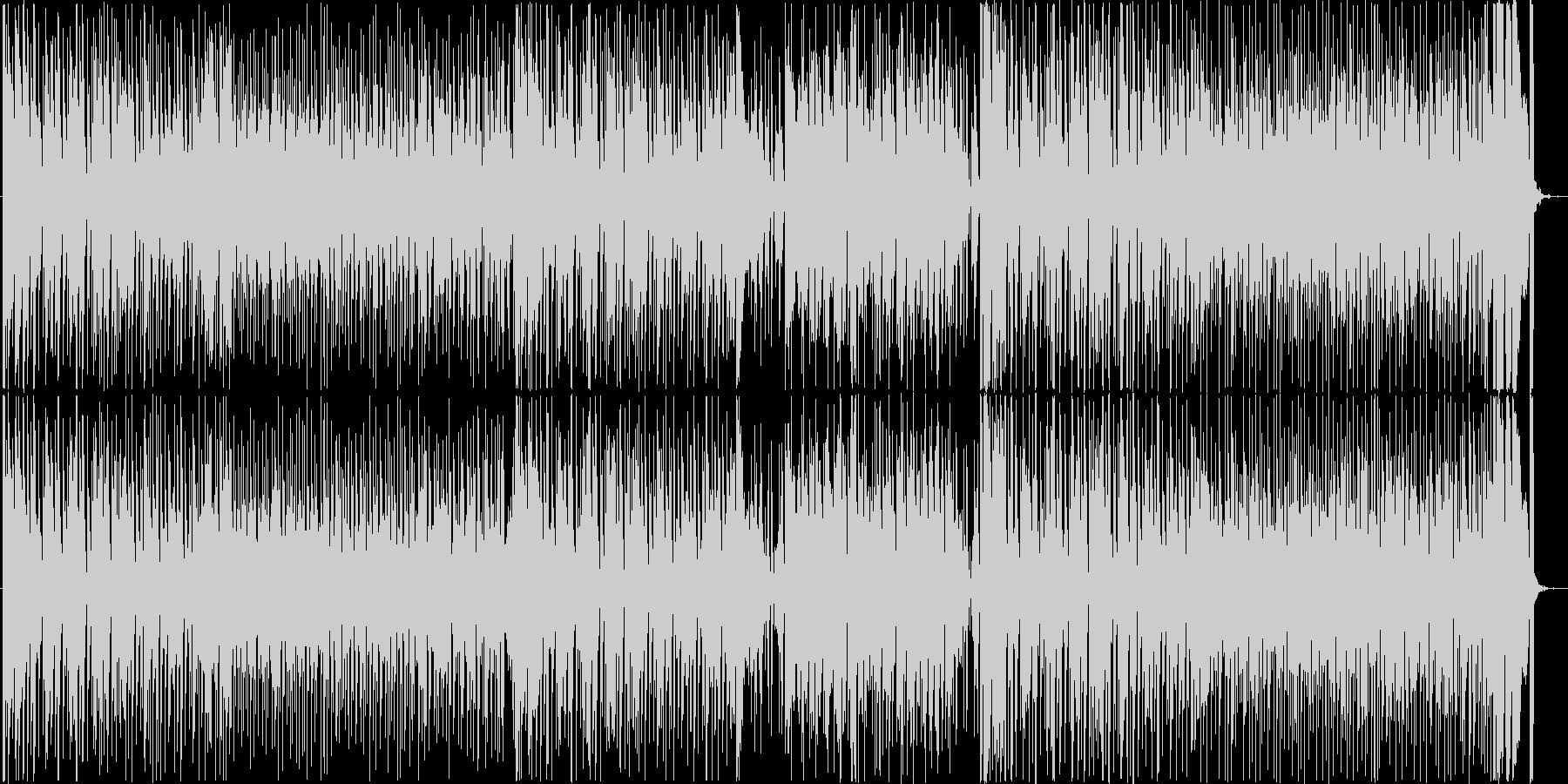 クールでファンキーなレトロサウンドの未再生の波形