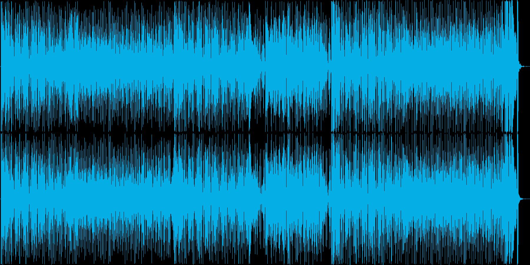 クールでファンキーなレトロサウンドの再生済みの波形