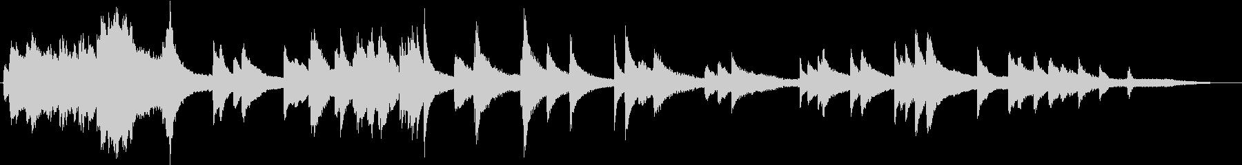 ピアノ クラスクルー の未再生の波形