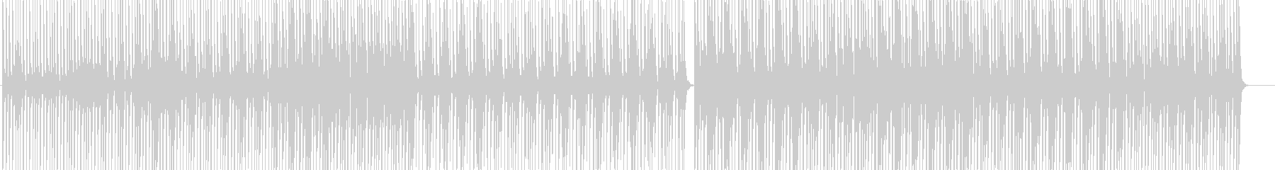 エレクトロ-カフェ-トロピカル-スイートの未再生の波形