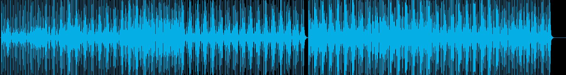 エレクトロ-カフェ-トロピカル-スイートの再生済みの波形