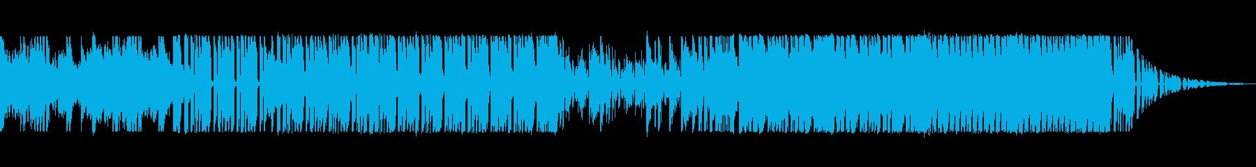 覚醒するダンスミュージックの再生済みの波形