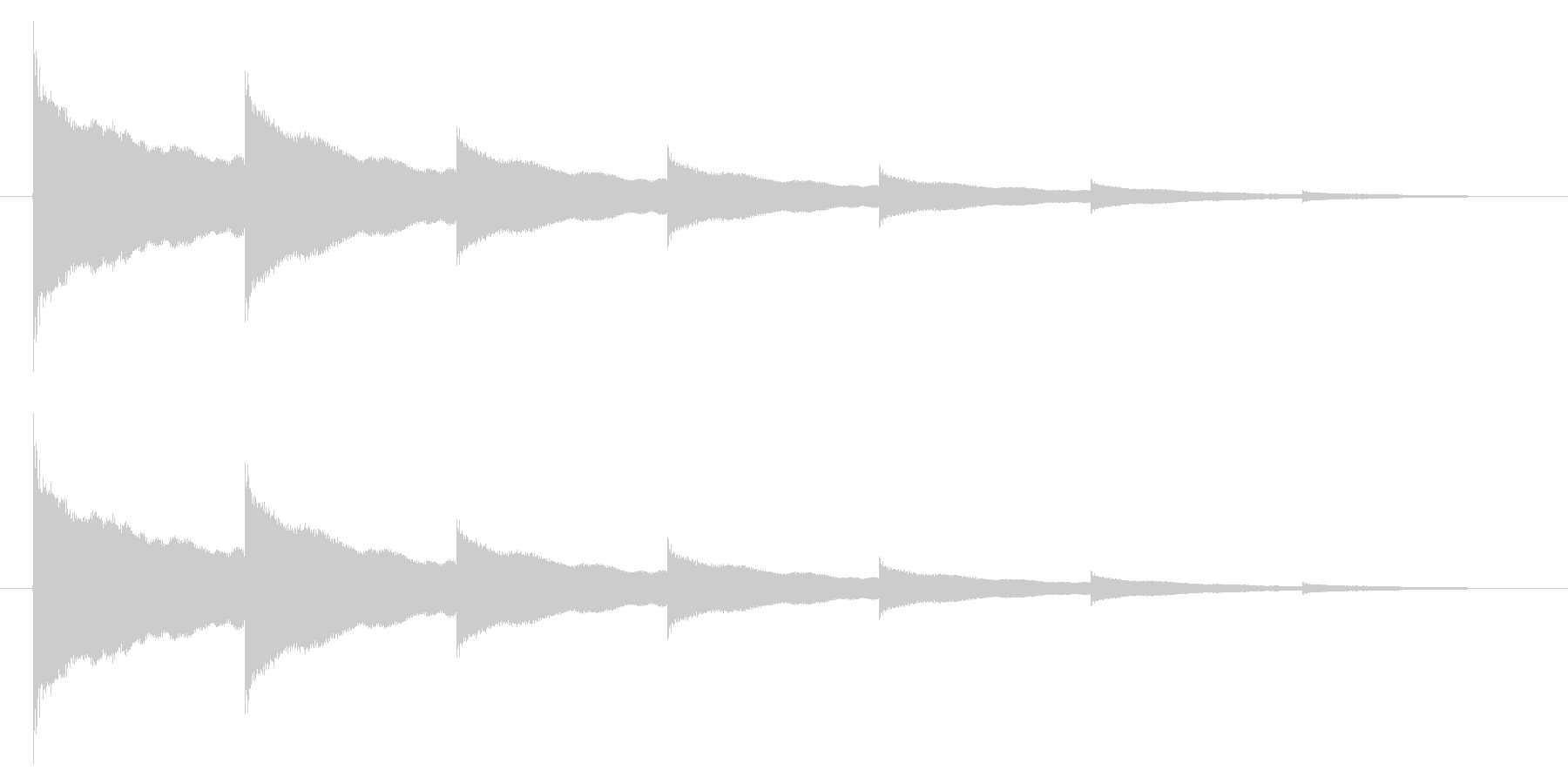 チーン05-2の未再生の波形