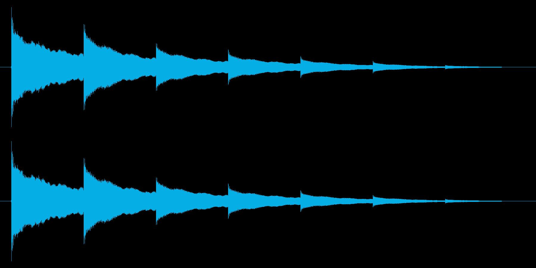 チーン05-2の再生済みの波形