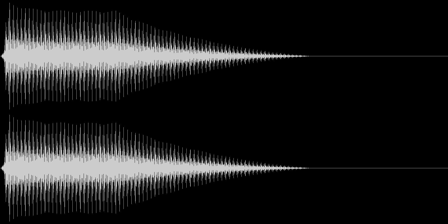 OctaveCom アプリ用タッチ音6の未再生の波形