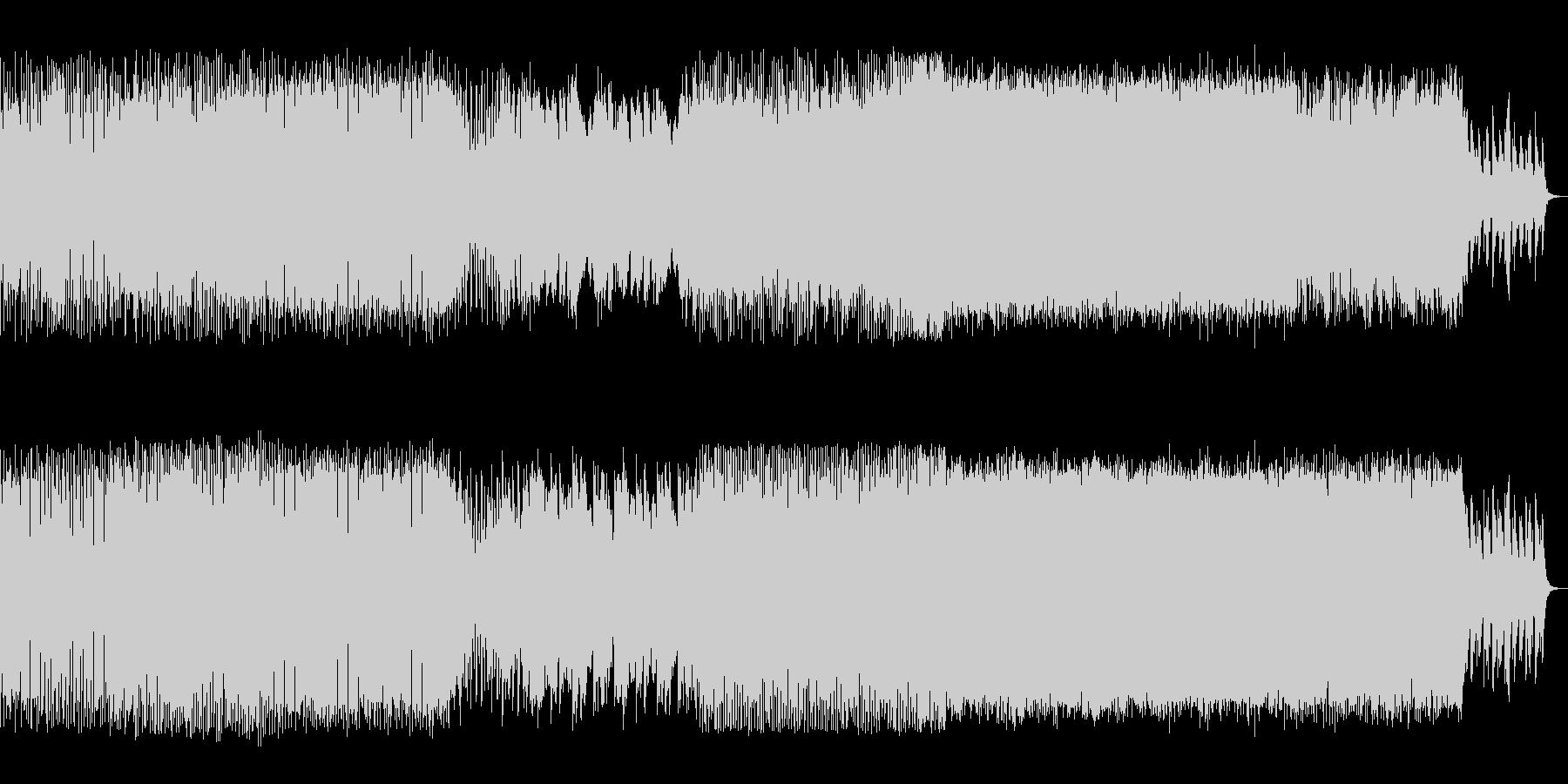切ないメロディが印象的なダンス音楽の未再生の波形