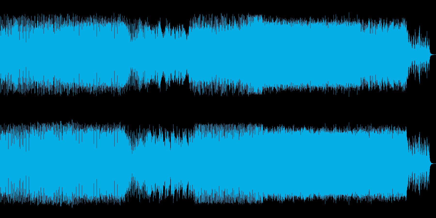 切ないメロディが印象的なダンス音楽の再生済みの波形