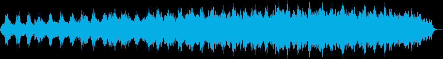 心安らぐヒーリングミュージックの再生済みの波形