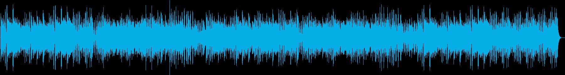 ワンパクに動くリズムが楽しいピアノBGMの再生済みの波形