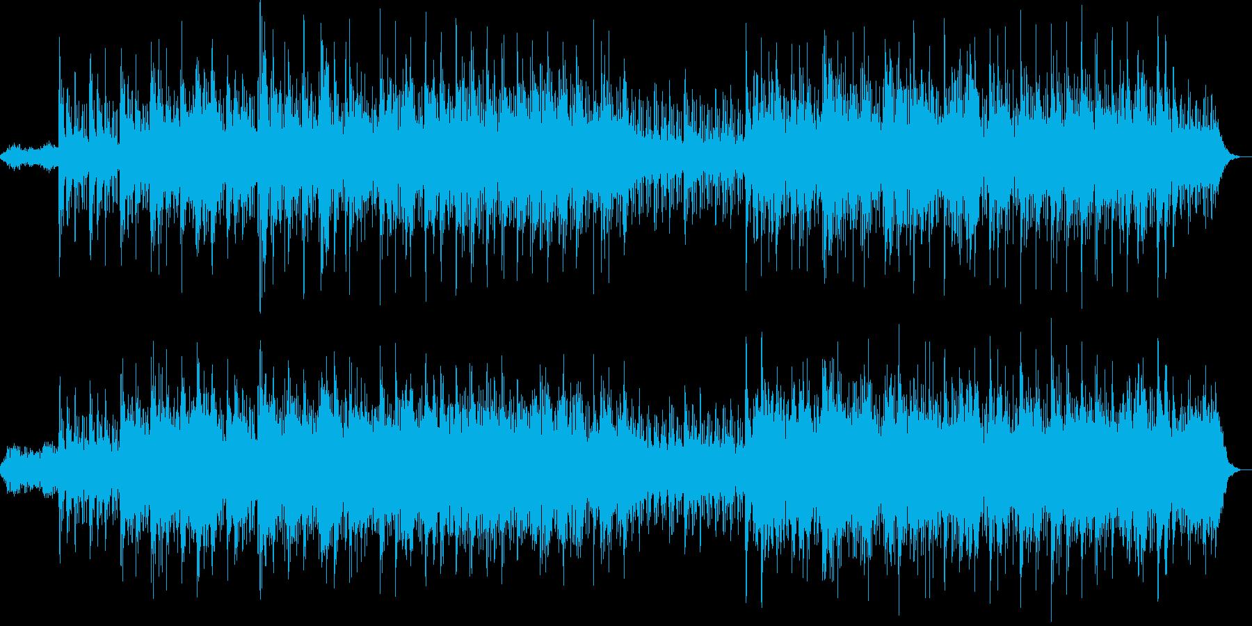 アコースティックギターが奏でるインストの再生済みの波形