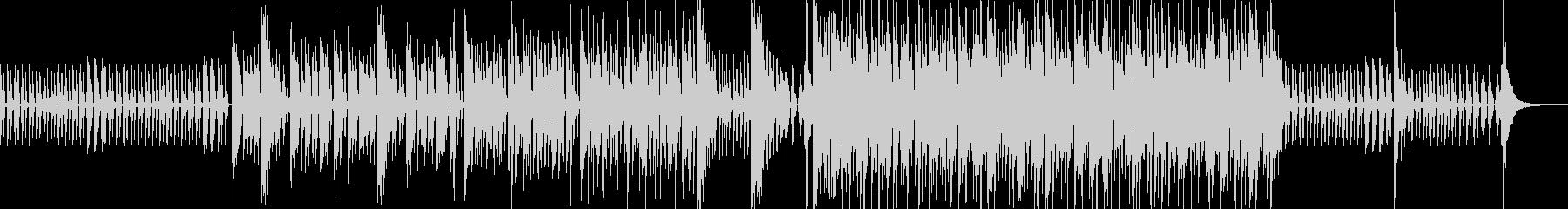 3,2,1のカウントダウン付きのファンクの未再生の波形