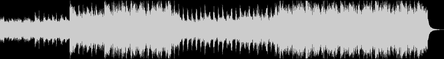 暗くゴシックな雰囲気のオルガンBGMの未再生の波形
