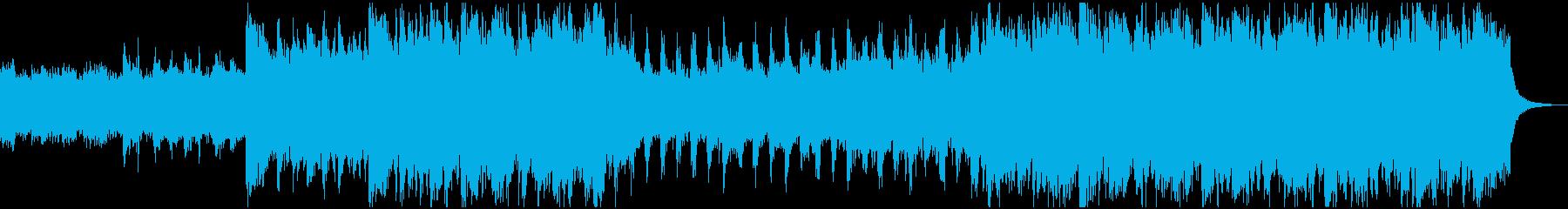 暗くゴシックな雰囲気のオルガンBGMの再生済みの波形