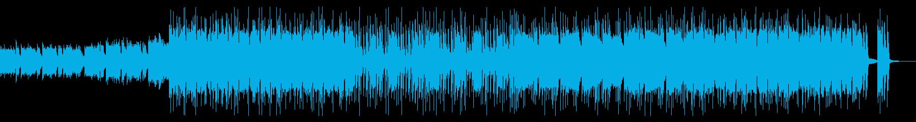 幻想的ファンタジーロックの再生済みの波形