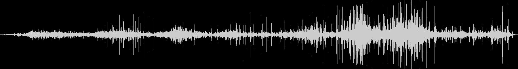 中世の管弦楽団:ドローの未再生の波形
