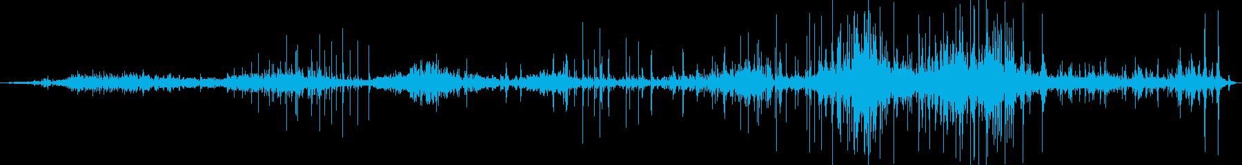 中世の管弦楽団:ドローの再生済みの波形