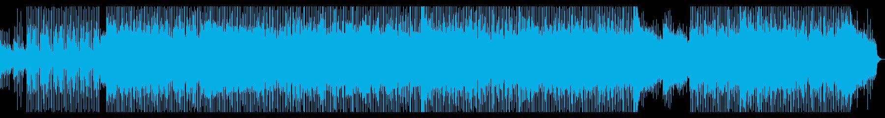 企業VP・モチベーション・ギター・EDMの再生済みの波形