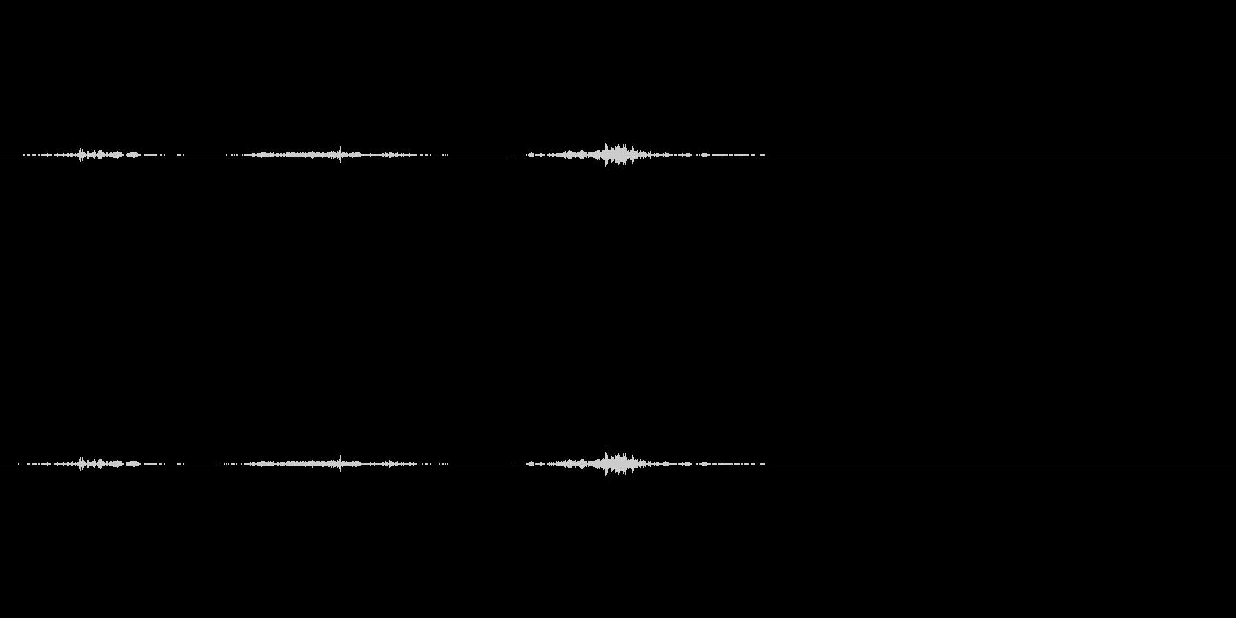 チェックボックスオン(ペン)_01の未再生の波形