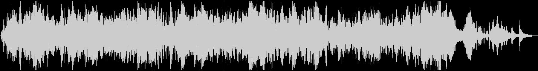 ショパン作曲 ノクターン第2番 変ホ長調の未再生の波形