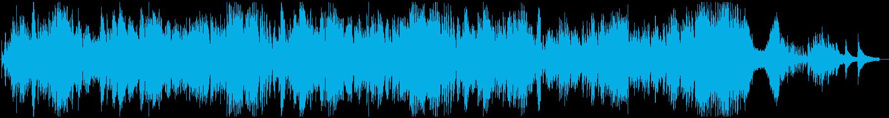 ショパン作曲 ノクターン第2番 変ホ長調の再生済みの波形