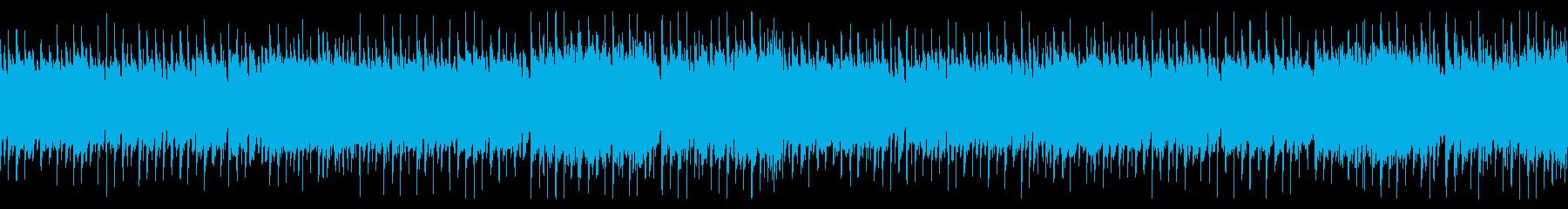 日向ぼっこのようなほのぼのするBGMの再生済みの波形