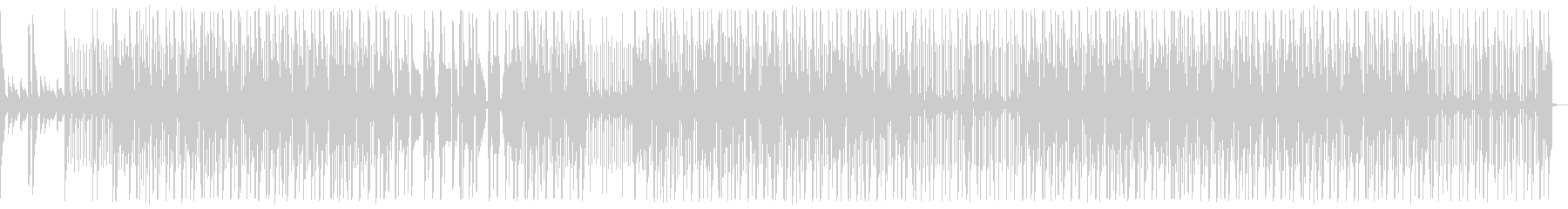 ダーク、ピアノ、ヒップホップ、トラップの未再生の波形