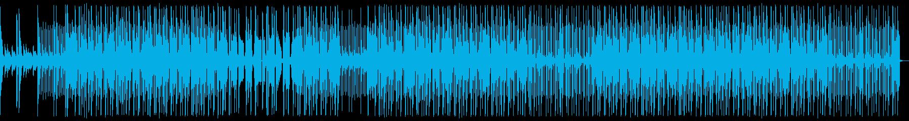 ダーク、ピアノ、ヒップホップ、トラップの再生済みの波形