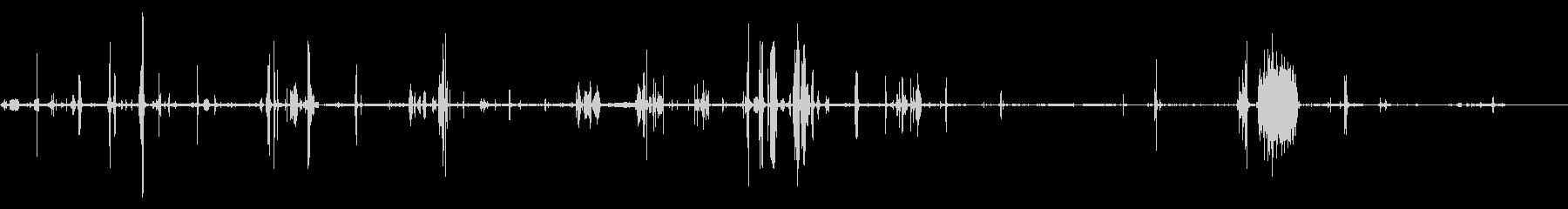 HAM RADIO:ラジオとディス...の未再生の波形