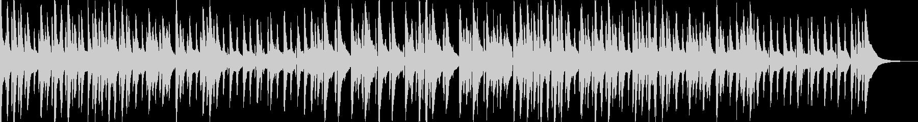 お洒落でキャッチ―なジャズピアノトリオ2の未再生の波形