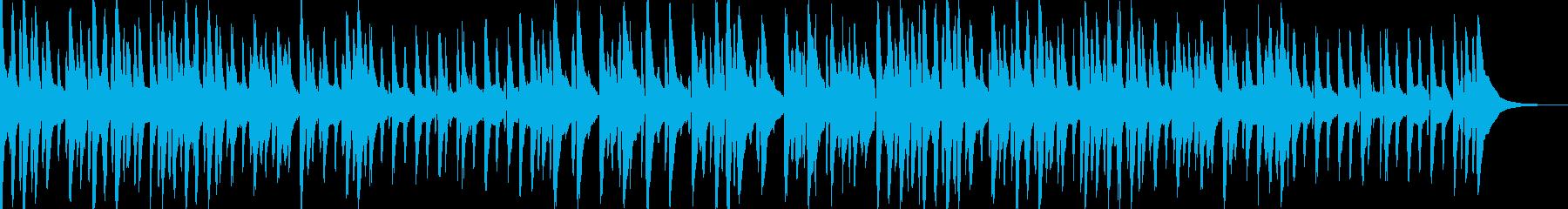 お洒落でキャッチ―なジャズピアノトリオ2の再生済みの波形