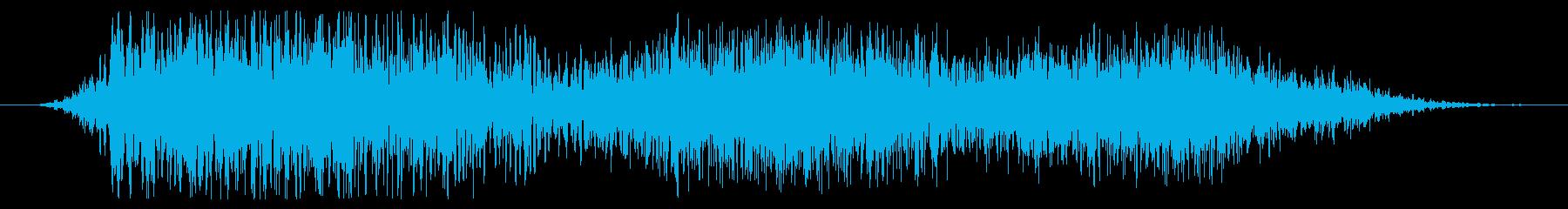 ウェーブパワーウーシュの再生済みの波形