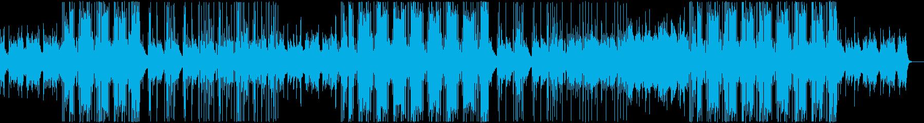 チャッチーな洋楽R&Bビートの再生済みの波形