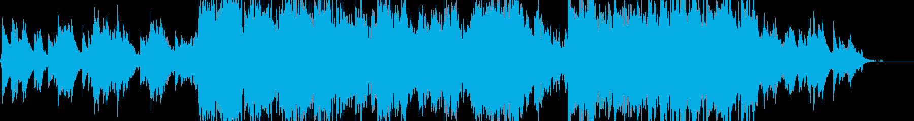 キラキラした新しい一日がはじまるBGMの再生済みの波形