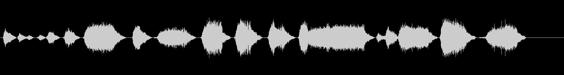 ドリル、電動ハンドの未再生の波形