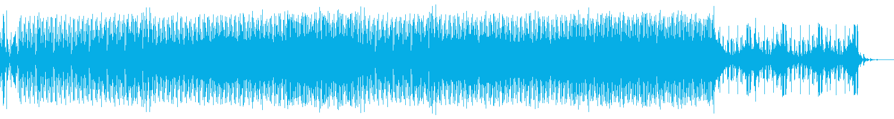 BGMにも最適なオシャレEDMの再生済みの波形