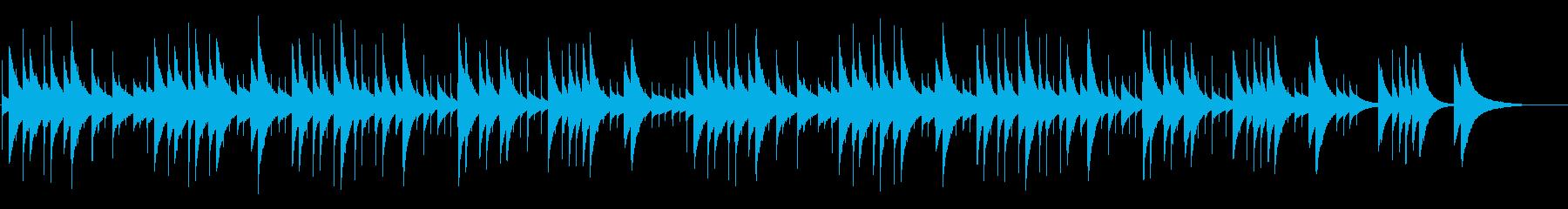 伝統的Xmasキャロル【オルゴール】の再生済みの波形